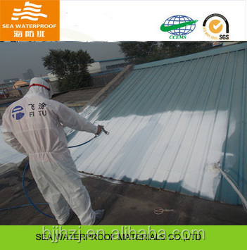 Antiseptic coating special for metal roof protection