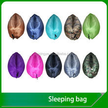 Fold inflatable air sofa camping sleeping bag wholesale