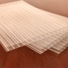 Cheap solar tunnel greenhouse polycarbonate 3 layer sheet crystal pc sheets