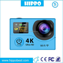 3X Blue Photo Video A9 Action Camera Full Hd 1080p Waterproof 4K Action Sport Camera