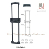High Quality Plastic Trolley For Trolley Case