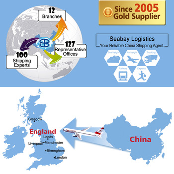 Cheap air freight cargo service China to London