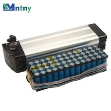 CNNTNY 48V 10Ah Deep Cycle Battery Pack Li-ion 480Wh 18650 Rechargeable Battery Lifepo4 for E-Bike