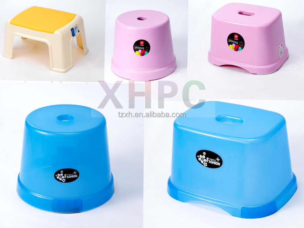 Home novelty children step plastic stool chairs