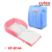 2016 New Design Foldable Portable Durable Baby Travel Carry Cot Bed Bag