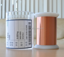 Coil using superfine high quality enamel insulated copper wire