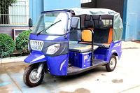 200cc Water Cooled Passenger Motor Tricycle for Taxi Use