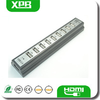 Wholesale High speed USB hub port fo 10 port usb 2.0 hub