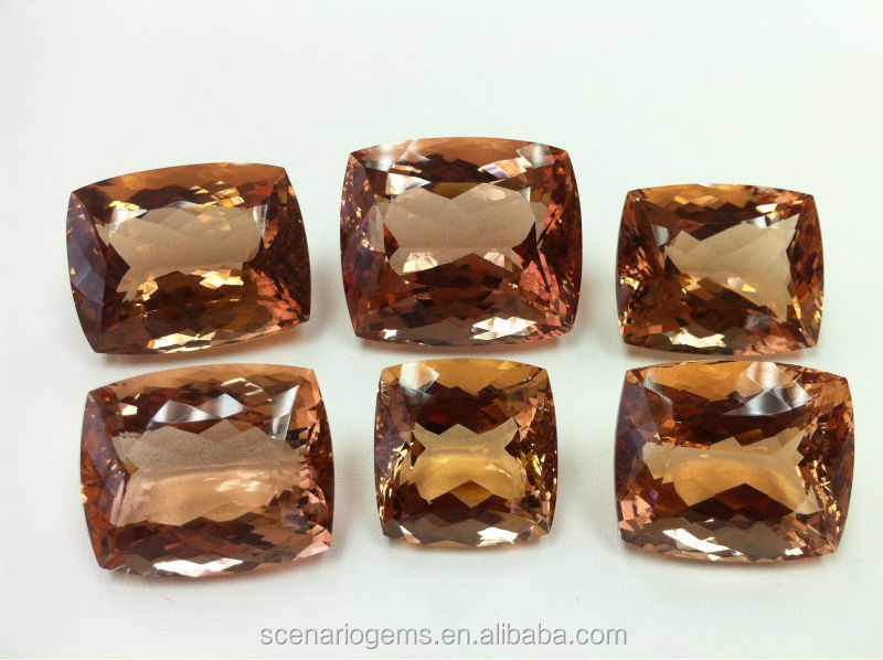 Natural Multi Shape Faceted Loose Gemstone Morganite