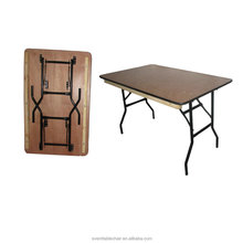High Quality wooden 6ft folding table for sale