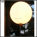 NB-BL3003-8 Waterproof With LED inflatable standing ball for wedding decoration