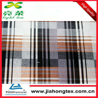 Organic Bamboo Fiber Shirting Fabric for Casual/Business/Dress Shirt Woven Yarn Dyed Check 2013 New