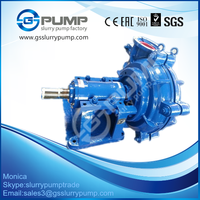 Slurry pump delivering fine coal to dewatering screen in coal washery
