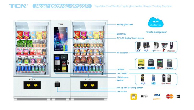 fresh fruit vending machine
