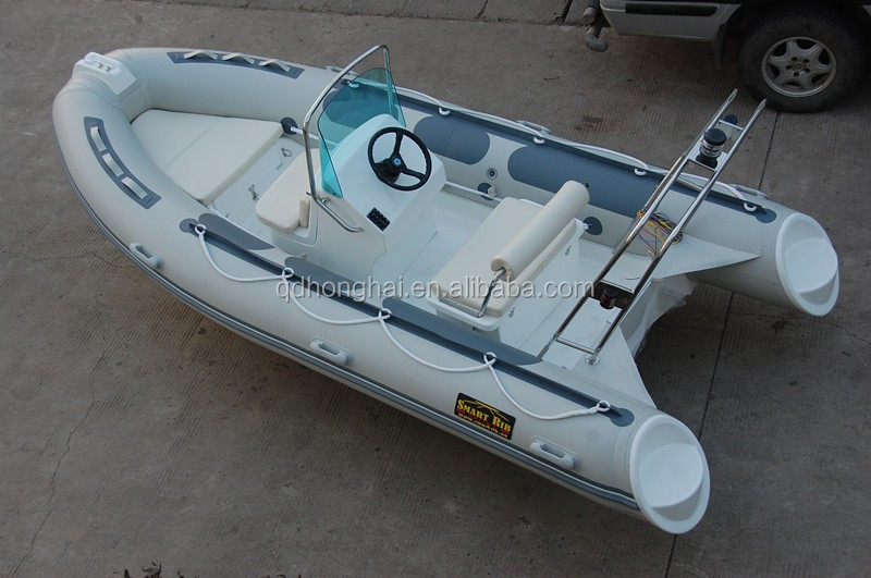14ft RIB boat fiberglass hull HH-RIB420 with CE