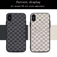 China factory original Embroidered phone case Stickers skin cell phone case Pattern phone case