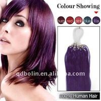2011 New Hot Sale 18 inch Purple Hair Extension