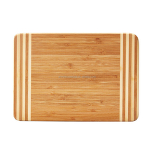 Food Grade Natural Bamboo Food Serving Chopping Board For Kitchen