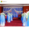 ice silk event church backdrop stage backdrop decoration