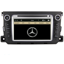 7 inch Car DVD Player GPS Navigation System Radio For Benz Smart Fortwo 2012 2013 Bluetooth RDS steering wheel control