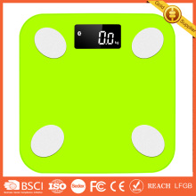 Bluetooth Plastic Digital Personal Bathroom Body FatPlastic Digital Personal Bathroom Body Fat Weight Scale Fitness LED Display