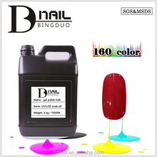Acrylic power and liquid-3 Step Gel polish, nail gel polish 300 colors for choosing, Non-yellowing