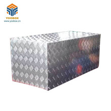 hotest sale cheap truck equipment aluminum metal tool box with drawers