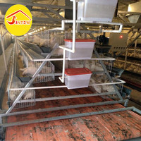 A frame chicken layer cages 3 tiers poultry cage rabbit cage system for Nigeria poultry farm