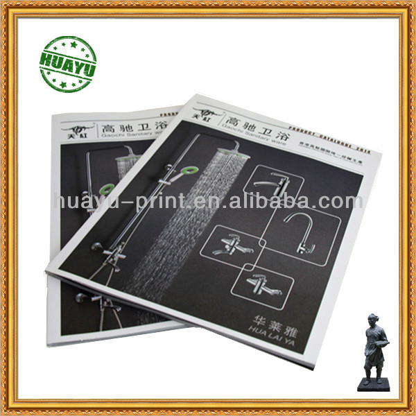 black and white offset paper booklet printing