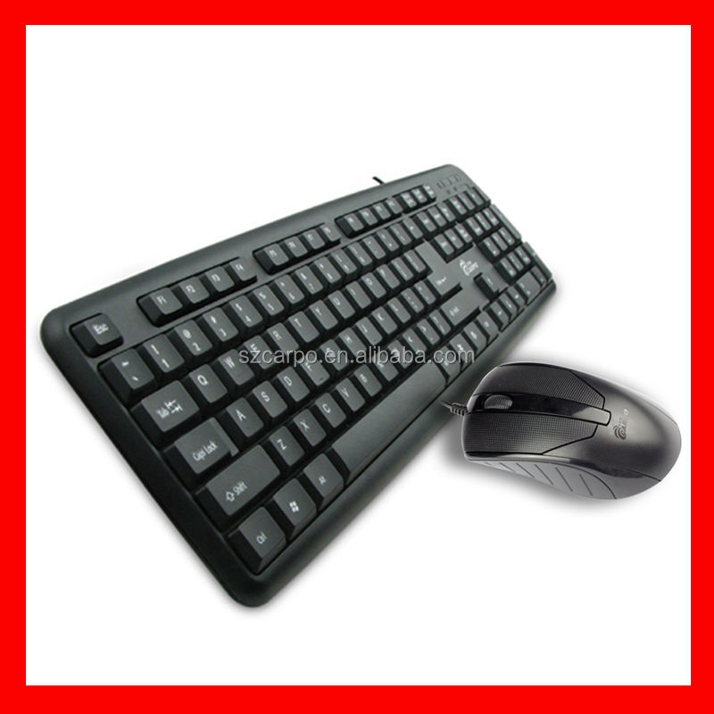 2015 wired keyboard laptop keyboard computer keayboard Small business ideas www 89 com hot cheap wired keyboard and mouse T-500