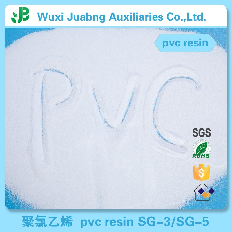 China cheap price industrial grade PVC raw material virgin and recycled PVC Resin SG5 K67 for PVC Pipe