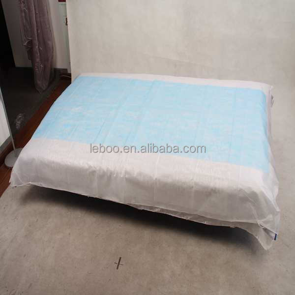 PE coated medical bed sheet/set/cover