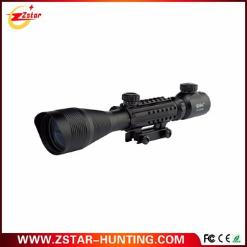 4-12x magnification hunting rifle scope C4-12*50EG with range finder reticle