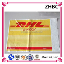 DHL style plastic courier mail bags