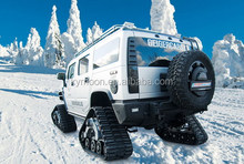 ATV Rubber Snow Tracks/rubber crawler/snowBlower/snowmobile/SUV