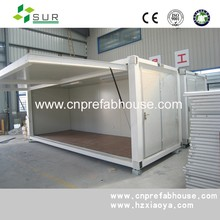 Sandwich panel prefab expandable container coffee shop