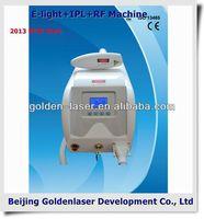 2013 New design E-light+IPL+RF machine tattooing Beauty machine disposable silicon tattoo grip