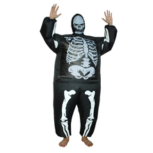 Horrible Factory Price Inflatable Skeleton Suit Jurassic Costume