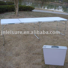 High quality Aluminum folding table , folding beer pong table , folding outdoor table