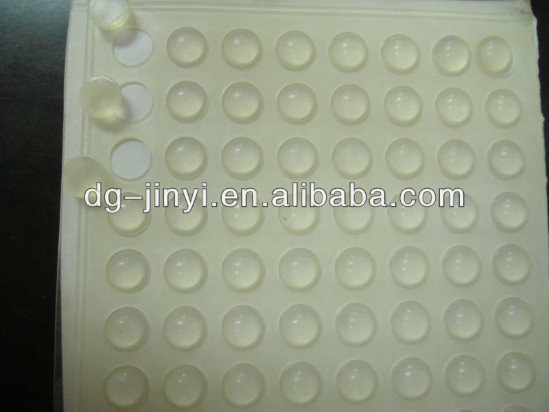 Different Size clear bumper pads furniture rubber bumper clear furniture bumpers