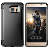 Durable Hybrid TPU Frame PC Phone Case For Samsung Galaxy Note 5 Phone
