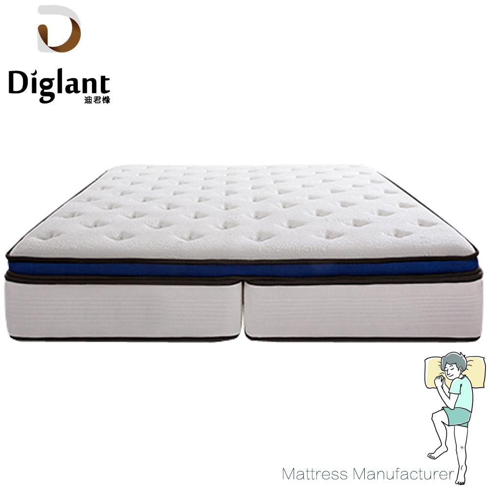 Deep sleep 500g cotton felt comfort pocket spring pillow top mattress - Jozy Mattress | Jozy.net