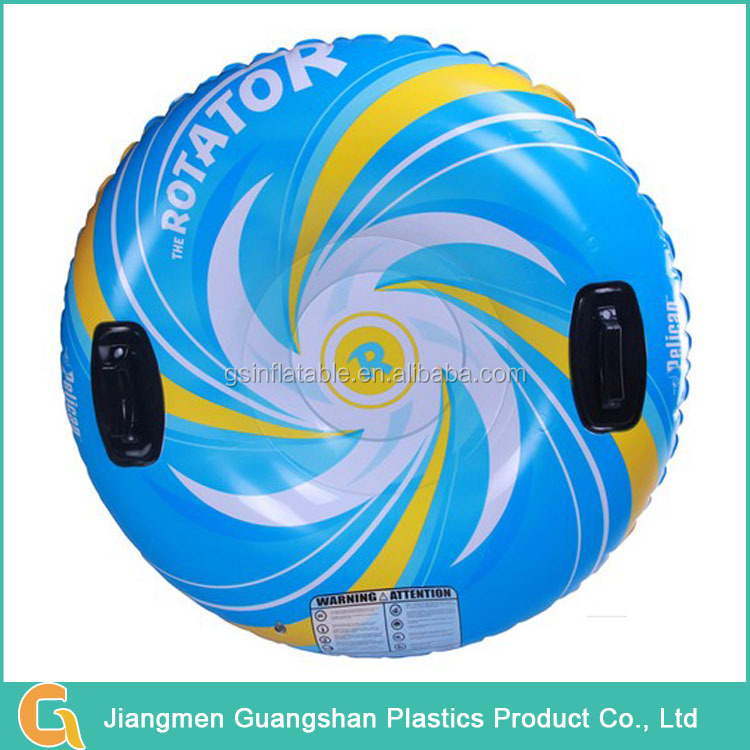 Low price folding snow skiing sport inflatable snow tube