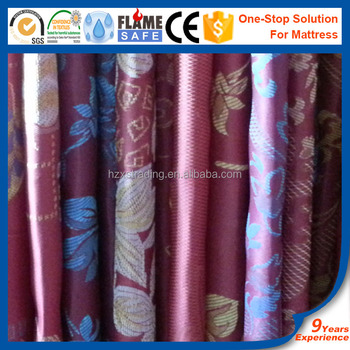 jacquard woven fabric for mattress