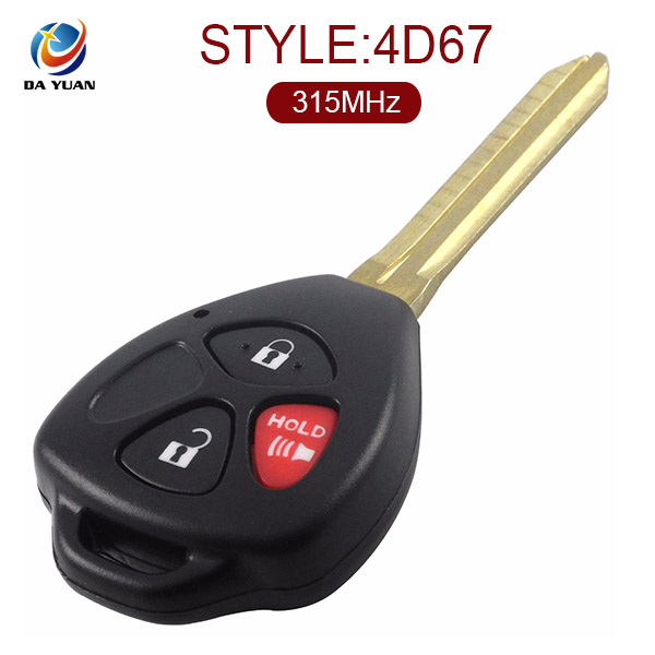 Remote Key Case Fob Cover for Toyota 4 button AS007047