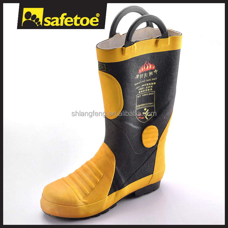 Fire resistant safety boots,fire resistant shoes,fire protection