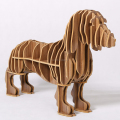Wooden DIY Funny Sausage Dog Wine Holder in High Quality