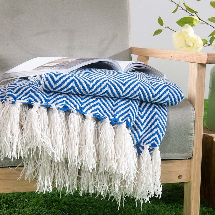 100% polyester microfiber knitted blanket for sale