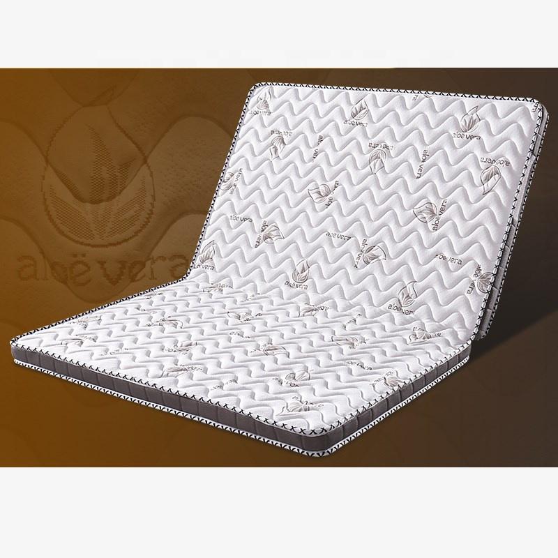 New aloe vera cotton coconut mattress folded thin mattress folding mattress bed wholesale high quality foam mattre sleeping - Jozy Mattress | Jozy.net
