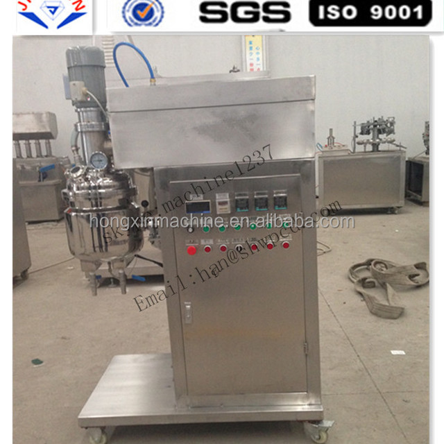 stainless steel Chemical Cosmetics vacuum emulsifying machine